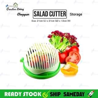 Salad cutted
