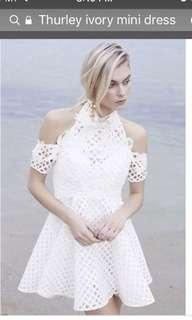 Authentic Thurley Be Mine in Ivory with Lace