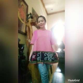 Yuuk melurik blouse tenun lurik mix tenun blanket