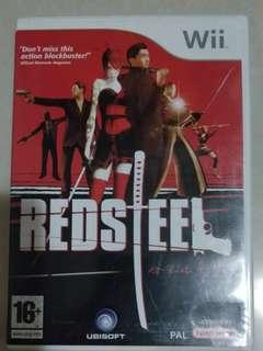 Wii Redsteel (Pal Version)