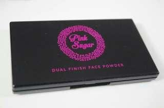 Pink sugar dual finish face powder