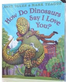 🚚 BN Set of 6 Books <Dinosaurs>