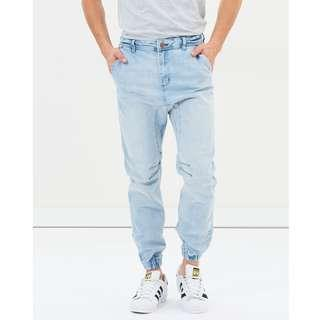 Cotton On Washed Out Blue Slim Denim Jogger Pants