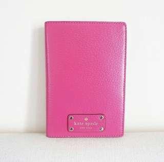 Kate Spade Hot Pink Passport Holder