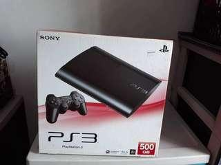 PS3 Super Slim with limited edition Tekken Tag 2