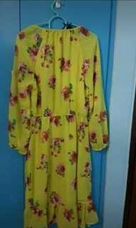🚚 Summer floral beach dress(Cotton On)