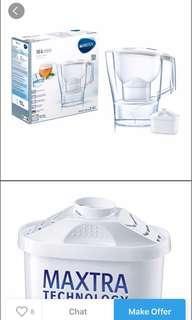 Brita marella jug XL 3.5L n water filter bnib