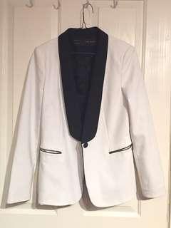 Zara tailored cocktail blazer