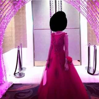 Red Ball Gown for RENT