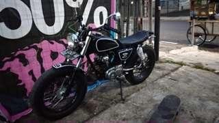 Motor costum japstyle gl100 up tiger