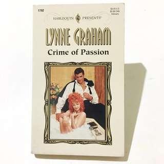 LYNNE GRAHAM  - Crime Of Passion  *Harlequin*