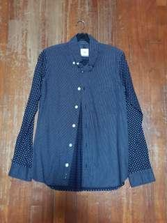 TS Polka Dot Long Sleeve Shirt