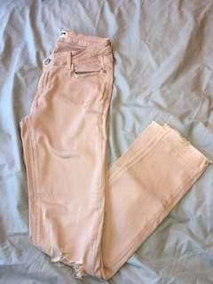 Light Pink Ripped Jeans