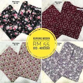 Baju Kurung English Cotton