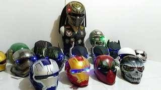 Super Heroes Real Motorbike Helmet