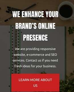Responsive Corporate Website