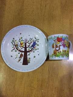 Winnie The Pooh Mug & Plate