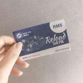 TOUCH n GO FREE RM8