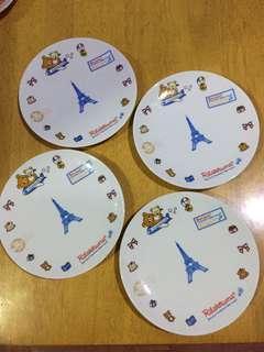 Rillakuma Cake Plates