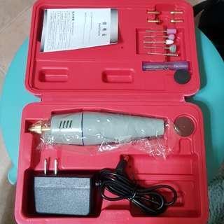 New Portable Mini Drill Grinder Polish Machine Multiple Bits Set