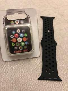Iwatch 42mm jakpas nike band and side protector