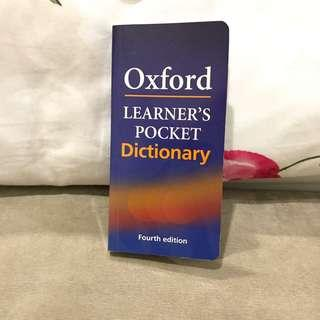 Oxford English Pocket Dictionary