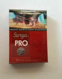 Rokok Surya Pro Merah isi 16