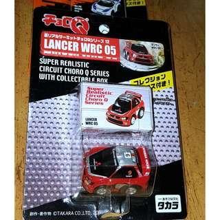 Choro RG-Q Super Realistic No.5 Mitsubishi Lancer WRC Mint On Card MOC