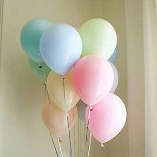 Macaron Balloons (100 pcs)