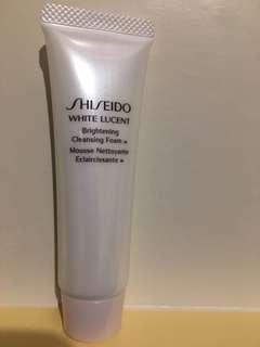 Shiseido brightening cleansing foam 30ml