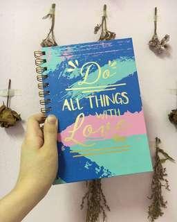 Typo Inspired Notebook