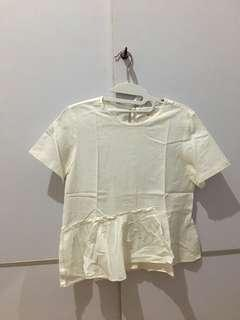 Top white by (X).S.M.L