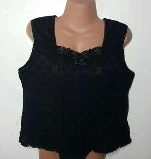 Pre loved Plus size Laced Sleeveless Blouse