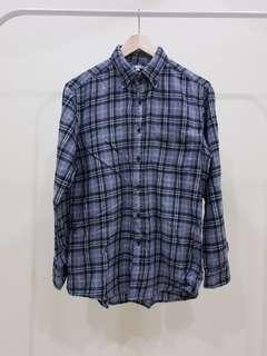 UNIQLO LONG SLEEVE FLANNEL SHIRT