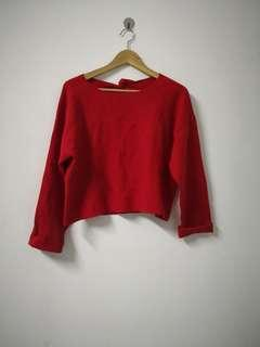Seed Red crop Top