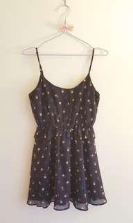 Floral dress with peplum detail *Forever 21*