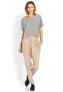 Forever 21 high-waisted trousers