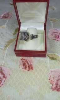 ✨✨✨純銀貓頭鷹造型戒指