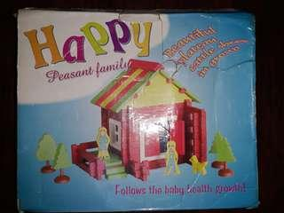 Educational Toy - Wooden House