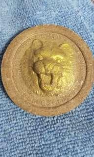 Lersi Tiger Jakthukam Amulet