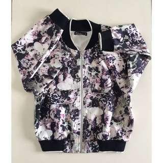 #H&M50 Kitschen Floral Bomber Jacket
