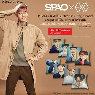 EXO x SPAO 2017 Exo Pillow