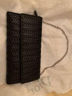 Dior wallet and chain
