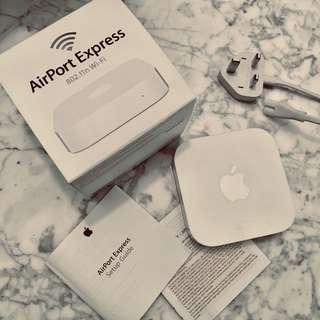 Apple Airport Express 802.11n Wi-Fi with receipt