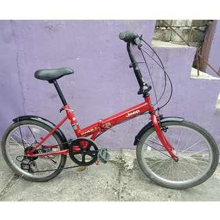JEEP FOLDING BIKE (FREE DELIVERY AND NEGOTIABLE!)