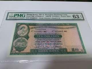 匯豐銀行1968年