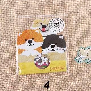 Shiba Diary Stickers