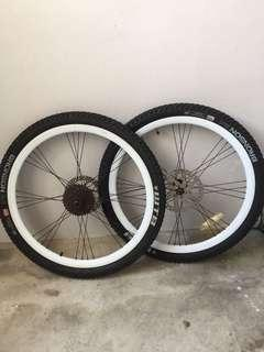 WHEELSET 26 inches