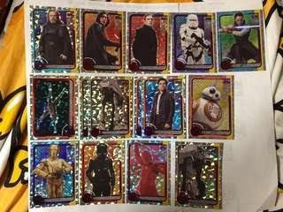 Topps Journey To Star Wars: The Last Jedi Cards