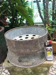金屬 古董炭爐